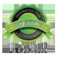 Rainwater Tank Certified