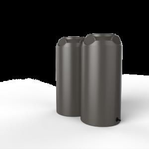 short slim rainwater tank
