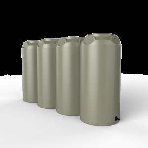 short slim rainwater tanks
