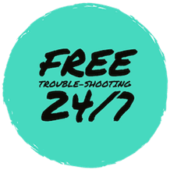 Free trouble-shooting 24/7